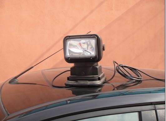 供應YFW6210智能遙控車載探照燈 1