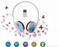 FA200 2.4G wireless back-hanging headphone