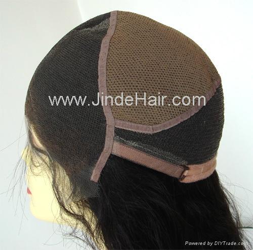 JinDe 100% human hair full lace wig 1