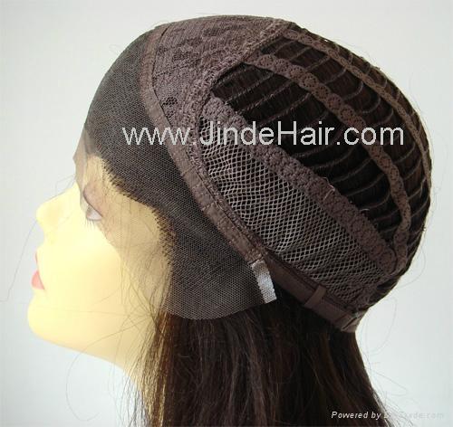 JinDe 100% human hair lace front wig 1