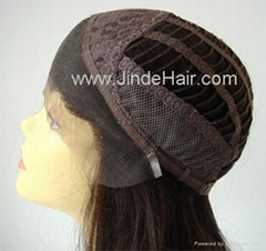 JinDe 100% human hair lace front wig