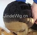 JinDe 100% human hair lace front wig 2