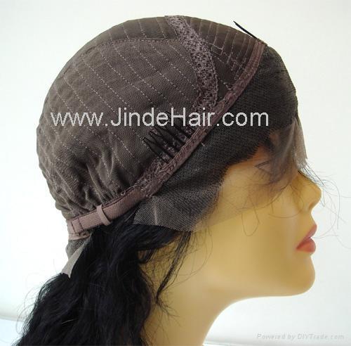 JinDe 100% human hair lace front wig 3