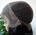 JinDe 100% human hair lace front wig 4