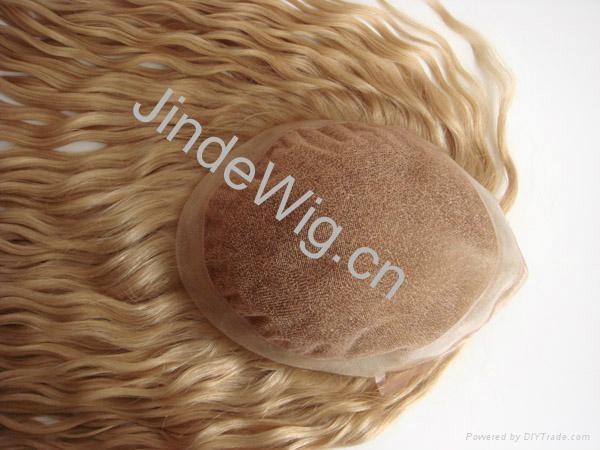 JinDe 100% human hair lace frontal 1