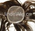 JinDe 100% human hair lace frontal 2