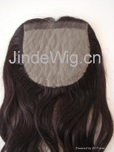 JinDe 100% human hair lace frontal 3