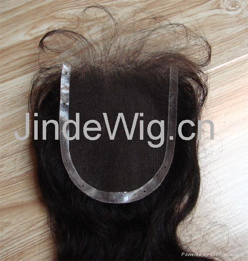 JinDe 100% human hair lace frontal 4