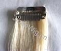 JinDe clip on 100% human hair extension 4
