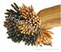 JinDe pre-tipped 100% human hair extension 3