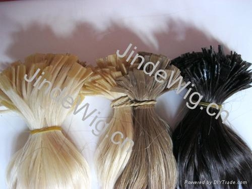 JinDe pre-tipped 100% human hair extension 5