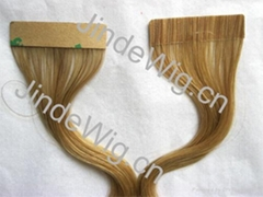 JinDe tape 100% human hair extension