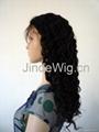 JinDe 100% human hair monofilament wig 3