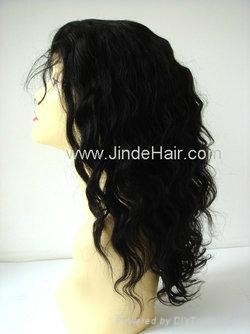 JinDe synthetic monofilament wig 3