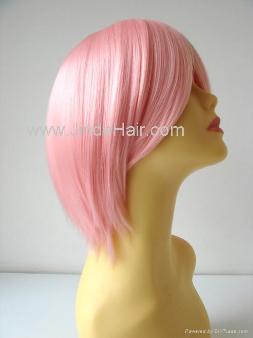 JinDe synthetic monofilament wig 4