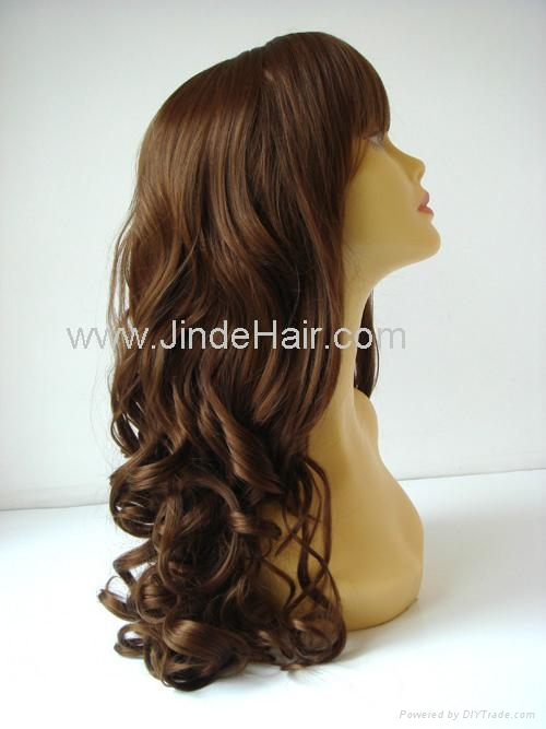 JinDe synthetic monofilament wig 5
