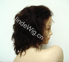 JinDe 100% human hair full lace wig
