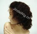 JinDe 100% human hair full lace wig 4