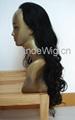 JinDe 100% human hair full lace wig