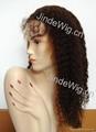 JinDe 100% human hair full lace wig 2