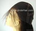 JinDe 100% human hair full lace wig 5