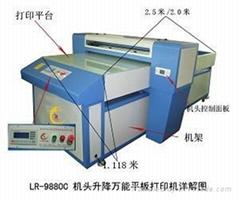 深圳龍潤玻璃打印機
