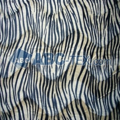 100% polyester hot sell animal print velboa/velour fabric