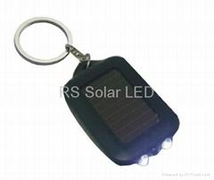 Solar Keychain with 2 LED lights