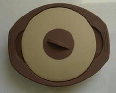 可折叠硅胶蒸锅