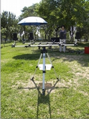 multi-adjusted 360 degree rotation rod pod station