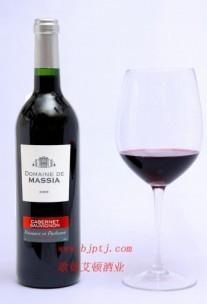 法國原瓶進口葡萄酒瑪詩亞莊園佳本娜干紅 2