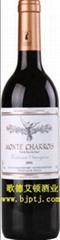 法国原瓶进口葡萄酒夏洛斯古堡干红