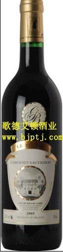 法國原瓶進口葡萄酒布利城堡干紅 1