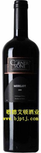 智利原瓶進口葡萄酒梅洛干紅 1