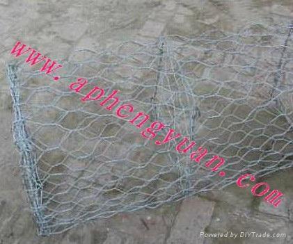 河北恒源镀锌石笼网 4