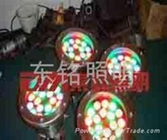 七彩水底燈