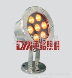 七彩水底燈 2