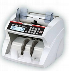 Front Loading Currency Counter