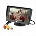 Bellehome4.3'' Color Car Monitor Support 480x272 Resolution+Car Rear-view system