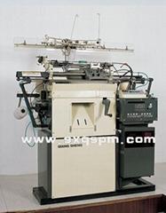 Computerized terry glove knitting machine