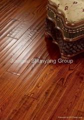 Handscraped Solid Wood Flooring