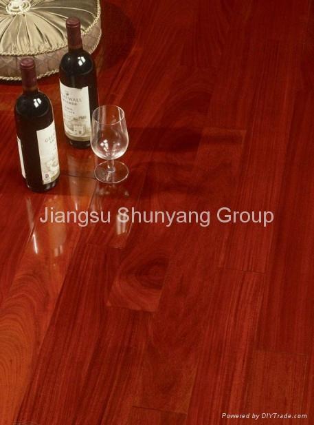 Laminated wooden flooring 1