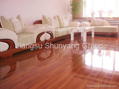 Laminated wooden flooring 2