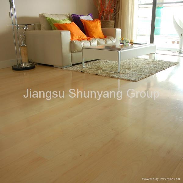 Laminated wooden flooring 4