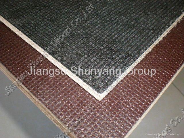 防滑覆膜模板 2