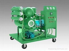 portable insulating oil filtration plant