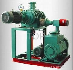 vacuum pumping device, transformer service