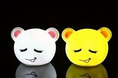 超級可愛熊子表情LED夜燈數碼彩繪機
