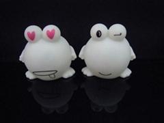 熱銷創意禮品  款表情青蛙家族小夜燈環保彩印機