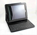 Ipad bluetooth keyboard with  leather